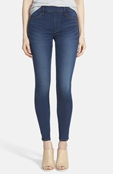 True Religion 'Runway' Leggings Indigo Denim High Tide