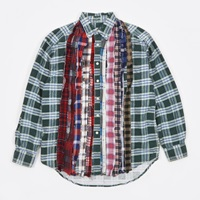Needles Ribbon Rebuild Flannel Shirt Assorted