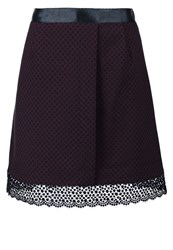 Kookai Aline Skirt Navy Dark Blue