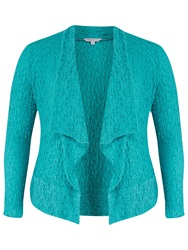 Chesca Bubble Jacket Turquoise Beige