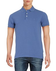 Brooks Brothers Embroidered Polo Shirt Blue