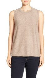 Eileen Fisher Women's Sleeveless Wool Crewneck Sweater