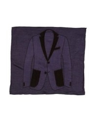 Boglioli Square Scarves Purple