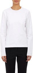 Protagonist Women's Crossover Open Back Shirt White