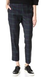 6397 Plaid Pull On Trousers Blackwatch Plaid