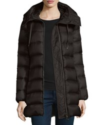Moncler Suyen Lightweight Quilted Puffer Coat Black