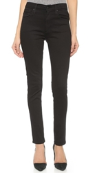 James Jeans High Class Skinny Jeans Flat Black