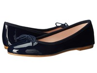 Summit White Mountain Kendall Navy Patent Leather Women's Slip On Shoes
