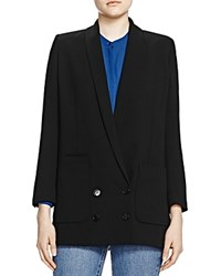 The Kooples Double Breasted Blazer Black