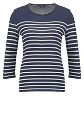 Gant Sailor Long Sleeved Top Evening Blue Dark Blue