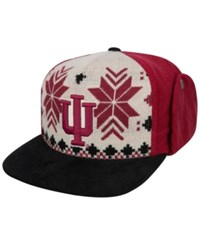 Top Of The World Indiana Hoosiers Christmas Sweater Strapback Cap