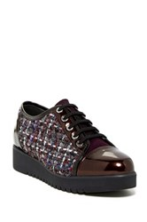 Aquatalia By Marvin K Ada Tweed Sneaker Metallic