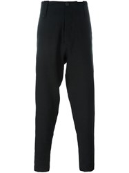 Isabel Benenato Suspenders Trousers Black