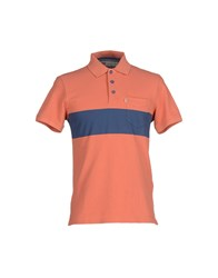 Levi's Red Tab Topwear Polo Shirts Men Rust