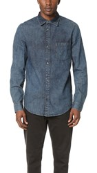 Cheap Monday Rude Denim Shirt Indigo Ice