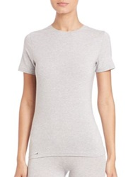 La Perla New Project Short Sleeve Tee White Grey Black