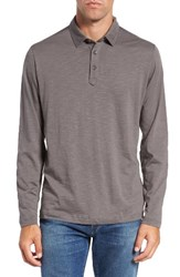 Tommy Bahama Men's 'Portside Player Spectator' Long Sleeve Jersey Polo Weimaranar