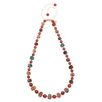 Lola Rose Mobi Necklace Red Quartzite Agate