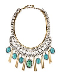 Costella Turquoise Statement Necklace Dannijo
