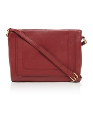 Dickins And Jones Taylor Crossbody Bag Raspberry