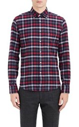 Brooklyn Tailors Checked Flannel Shirt Multi
