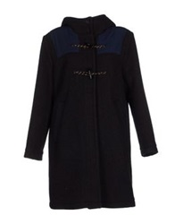Woodwood Coats Dark Blue