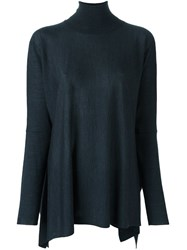P.A.R.O.S.H. Turtleneck Oversized Sweater Grey