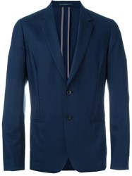 Paul Smith London Two Button Blazer Blue