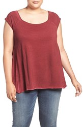 Dantelle Plus Size Women's Square Neck Swing Tee