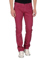 Met Denim Pants Garnet