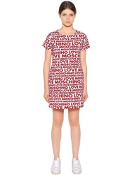 Love Moschino Printed Cotton Dress