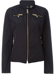 Fay Zip Fastening Jacket Black