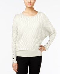 Alfani Dolman Sleeve Ribbed Sweater Only At Macy's Cloud