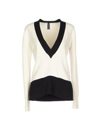 Pour Moi Pour Moi Sweaters Ivory