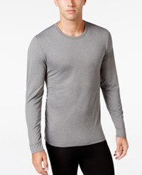 32 Degrees Degree Cool Long Sleeve Pajama Top Heather Grey