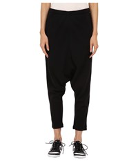 Yohji Yamamoto Winter Sarouel Black Charcoal Melange Women's Casual Pants