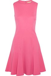 Michael Kors Collection Flared Stretch Jersey Dress Pink