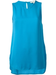 Michael Michael Kors Loose Tank Top Blue