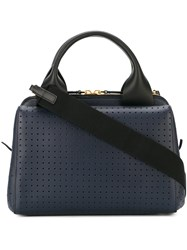 Marni Perforated Tote Pink And Purple