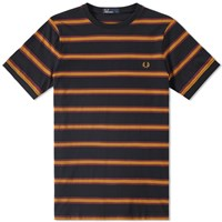 Fred Perry Bomber Stripe Tee Black