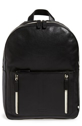 Ben Minkoff 'Bondi' Leather Backpack Black