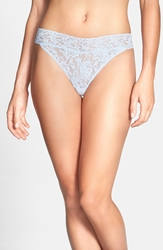 Hanky Panky Regular Rise Thong Dove Grey