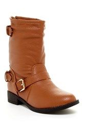 Charles Albert Rainy Biker Boot Brown