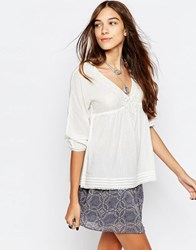 Pepe Jeans Susie Boho Blouse 808Mousse White