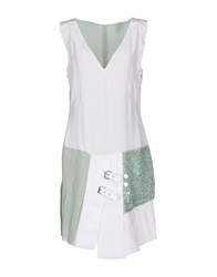 Uniqueness Dresses Short Dresses Women White