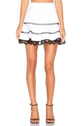 Alexis Ediely Skirt White