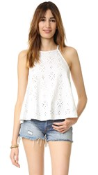 Free People Dream Date Tank Ivory