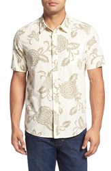 Quiksilver Men's Waterman Collection 'Happy Hour' Print Short Sleeves Pristine