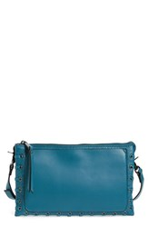 French Connection Faye Faux Leather Crossbody Bag Blue Ink Blue