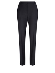 Aquascutum London Munday Stretch Wool Trousers Navy